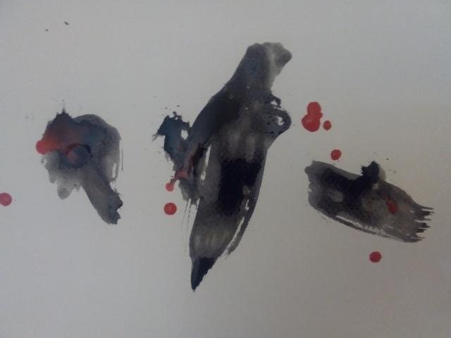 tempera on paper (2014) For Ex-Nihilo-Mattoid Records.